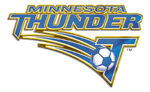 Minnesota Thunder 2002 - 2007 -- Primary Logo -- Logo Vertical Metallic
